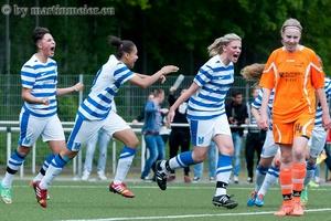Auf den letzteen Drücker - Lisa Arend traf in der letzten Minute zum 2:2 Ausgleich gegen den FC Rhade
