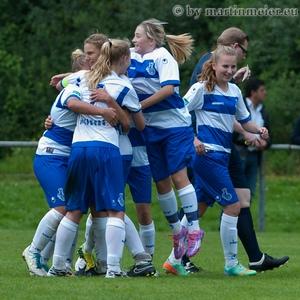 FINALE! - Die MSV-Mädels nahmen erfolgreich Revanche am VfL Bochum und zogen ins Turnier-Finale ein