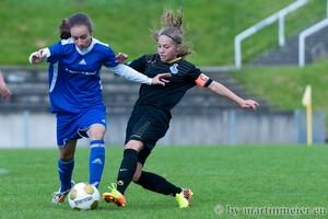 Auf Augenhöhe waren in der Zwischenrunde die U16 der SGS Essen und der MSV Duisburg