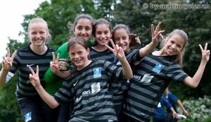 Celebrate youth! - Nach zwei erfolgreichen Auftritten sind die Mini-Zebras bester Laune