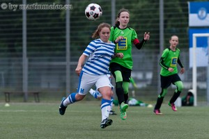 Unterwegs in Richtung Tor - Selina-Laura Magoli traf im Pokalfinale im Doppelpak