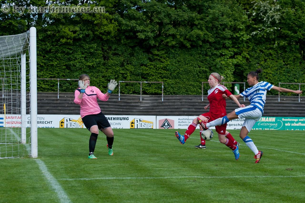 Immer Verlass - Lara Hess entschied die Auswärtspartie beim FC Iserlohn in der zweiten Halbzeit per Doppelschlag