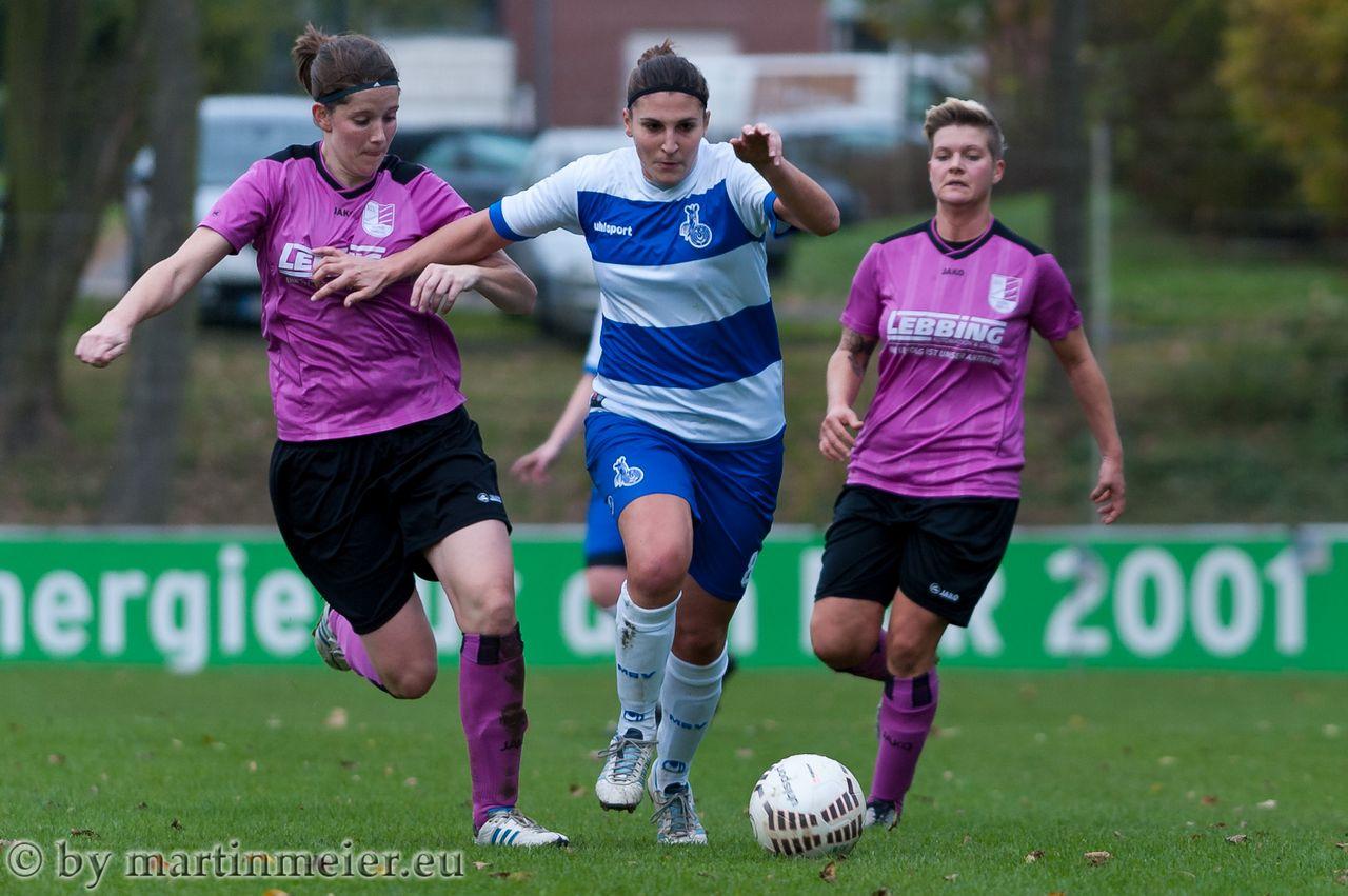 Kein Durchkommen gab es für den MSV in der Partie gegen den BV Borussia bocholt