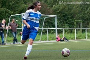 Doppelpack Nr. 2 - Auch Kapitänin Edina Habibovic traf bei der JSG SG Mülheim doppelt