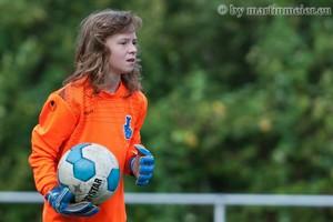 Starke Leistung - MSV Keeperin Melina Molnar war wieder einmal der starke Rückhalt ihres Teams