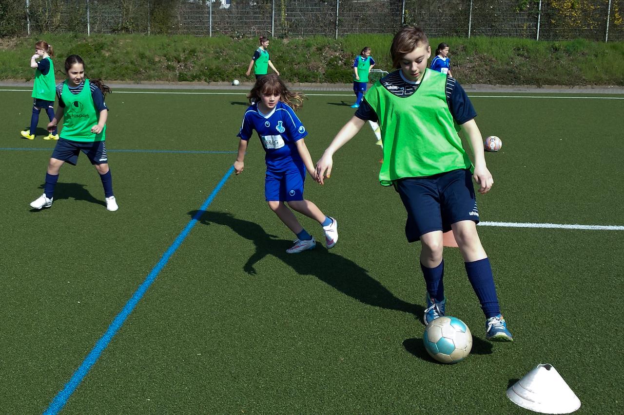 Das MSV Fußball-Feriencamp wurde bei allerbestem Wetter durchgeführt