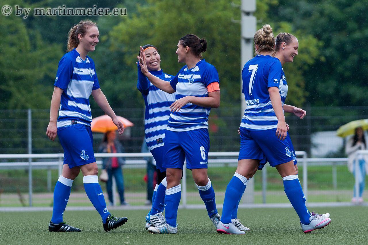 Leichter Auftakt - Locker siegte die MSV Zweitvertretung zum Regionalligaauftakt bei Eintracht Solingen