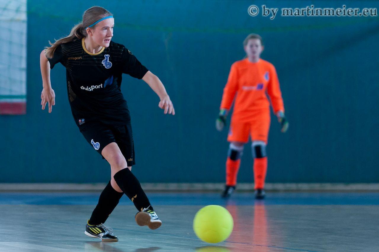 Ziemlich flauschig - Die teilnehmenden Teams hätten sich im Wettbewerb lieber einen den Futsal-Regeln entsprechenden Spielball gewünscht