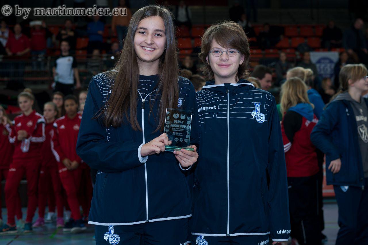 Viel gesehen, viel gelernt - Für die U15 des MSV war der Girls Snow Cup eine Bereicherung