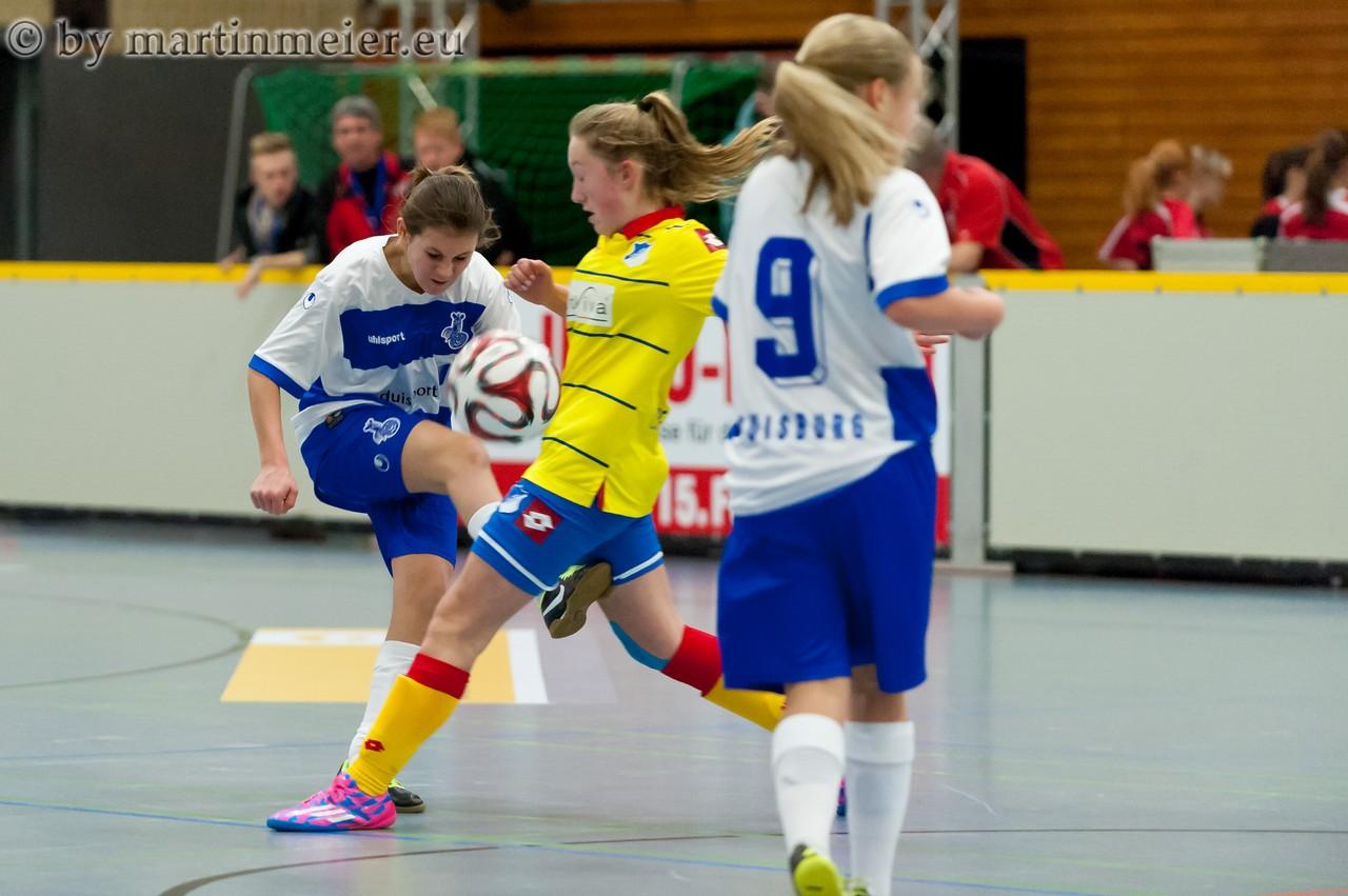 Kein Durchkommen gab es für den MSV in der ersten Partie gegen Vorjahressieger TSG 1899 Hoffenheim