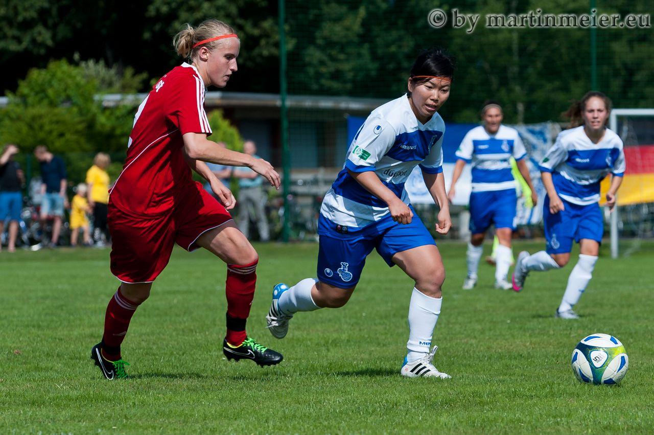 Katz und Maus - Yuna Segawa(MSV) überzeugte mit 3 Treffern