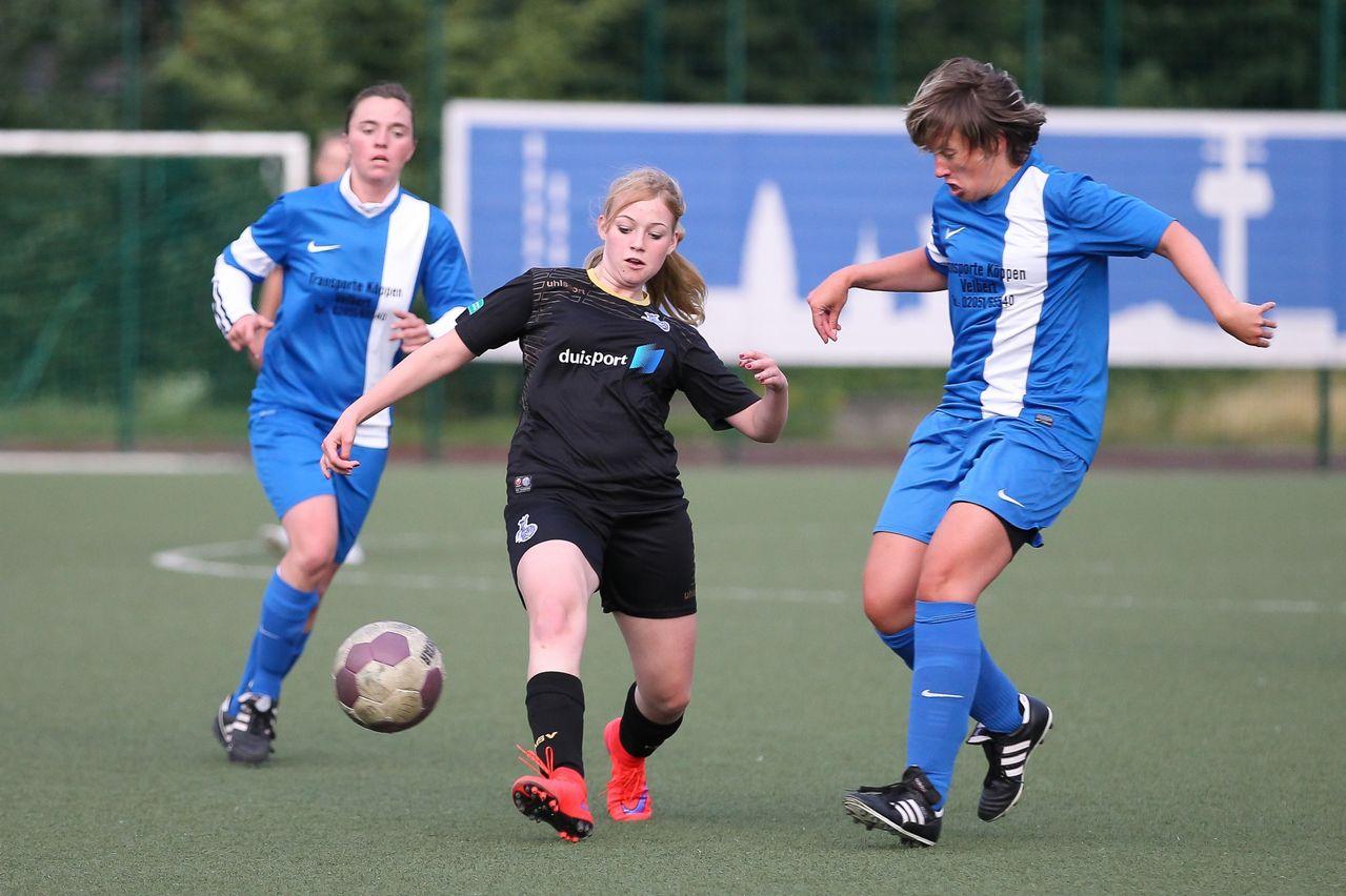 Veni, vidi, vici - U17 Spielerin Nina Püplichhuisen traf bei ihrem Debüt für die zweite Mannschaft