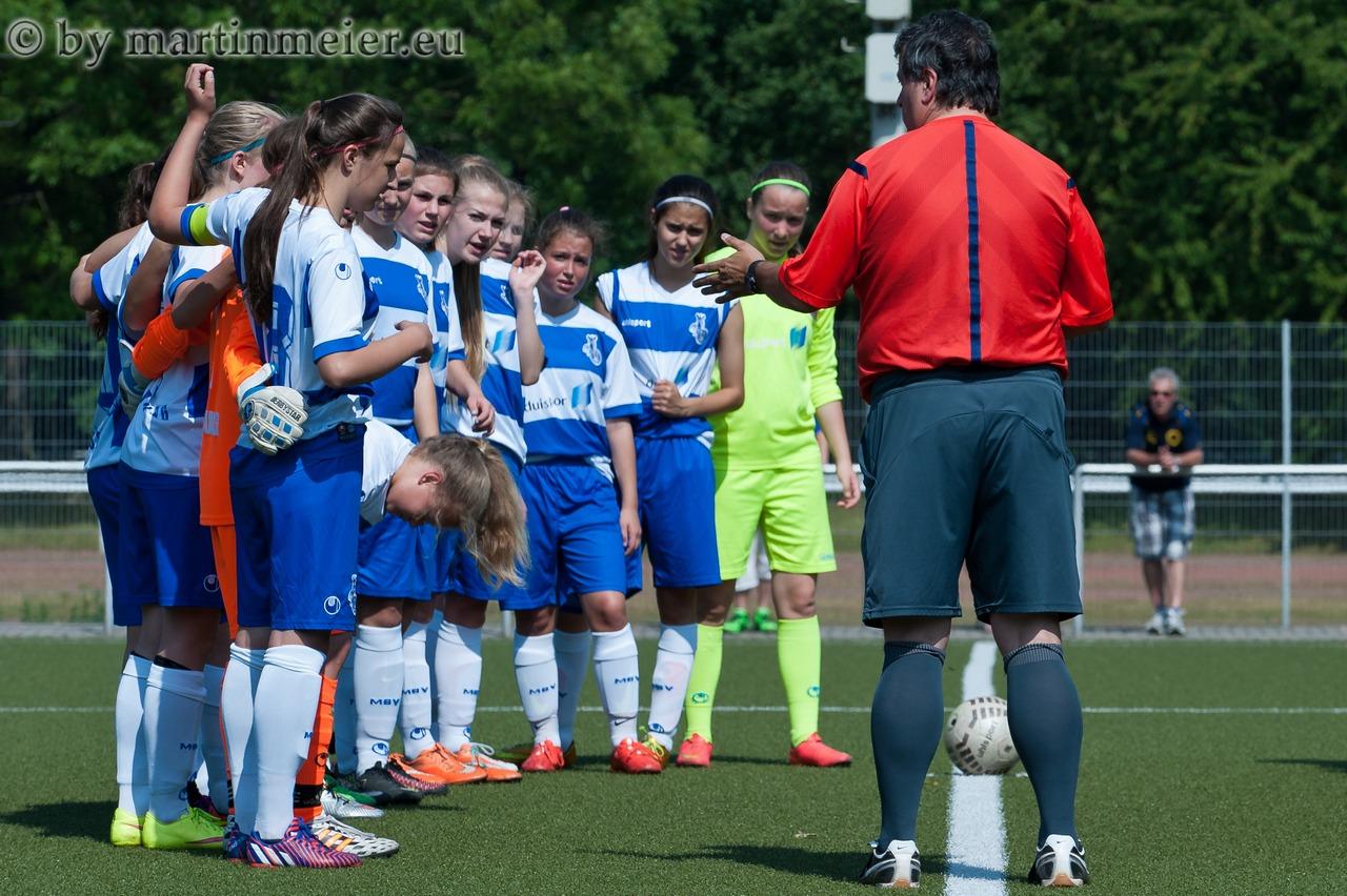 Gratuliere! Die Mädels des MSV sind erster Aufsteiger in die U17 Niederrheinliga