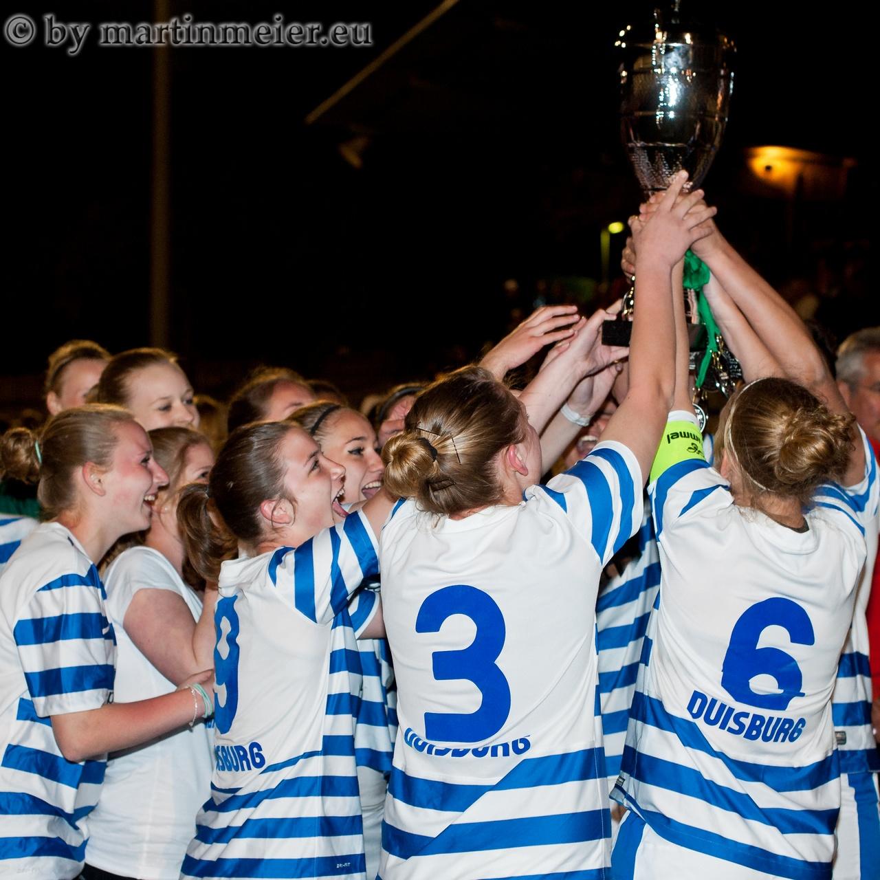 Spanische Nächte - Im Vorjahr triumphierten die B-Juniorinnen des MSV Duisburg bei der Trodfeo Mediterráneo
