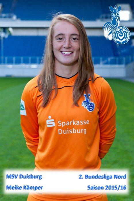 Meike Kämper - MSV Duisburg