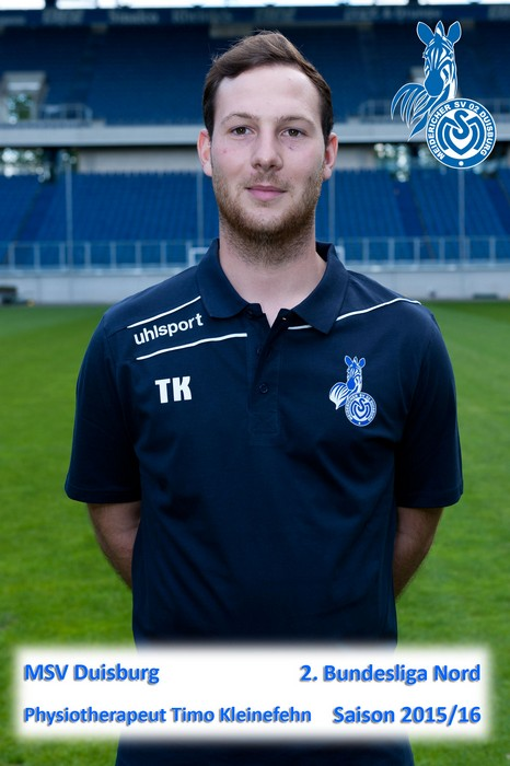 MSV I Physiotherapeut Timo Scheel