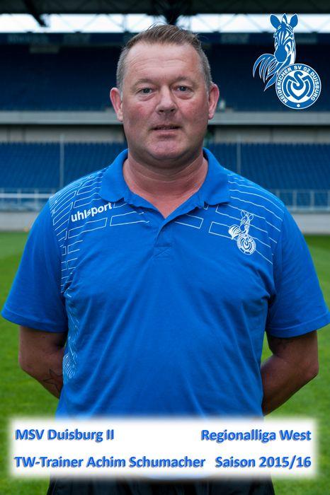 MSV II Tortwarttrainer Achim Schumacher