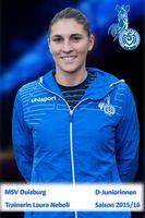 MSV U13 Trainerin Laura Neboli