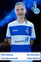 MSV U16 Kim Celina Dannehl