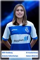 MSV U16 Antonia Halverkamps