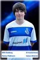MSV U16 Patrice Plaßmann