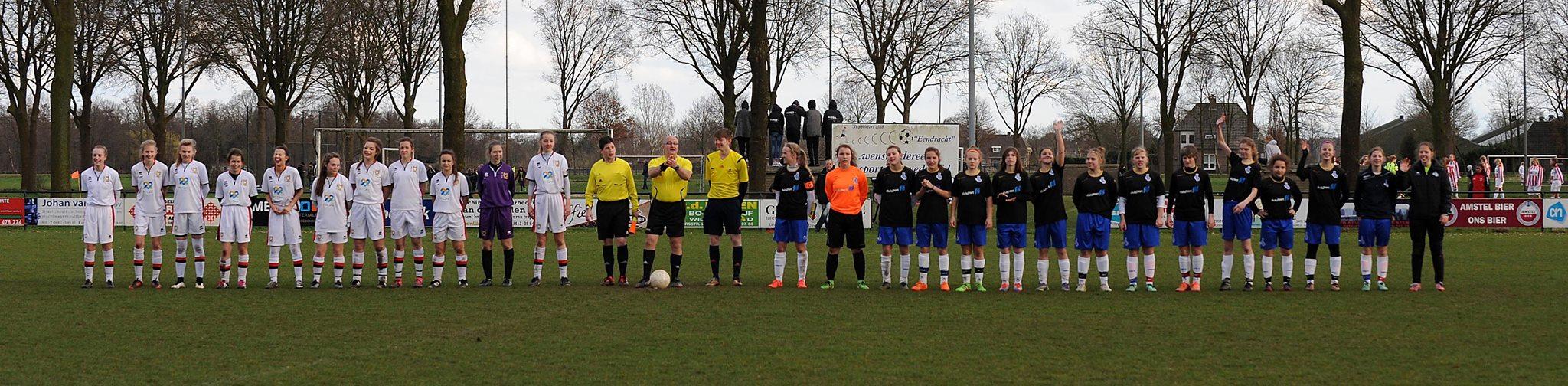 Are you ready? - Die Teams von Milton Keynes und dem MSV Duisburg vor dem Finale