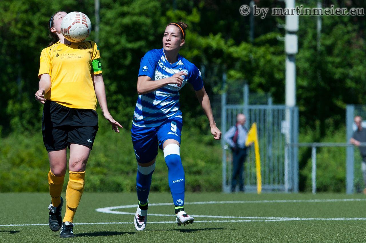 Stark gespielt, früh gewechselt - Petra Mitter musste leider kurze Zeit nach ihrem Assist zum 1:1 mit einer Zerrung ausgewechselt werden
