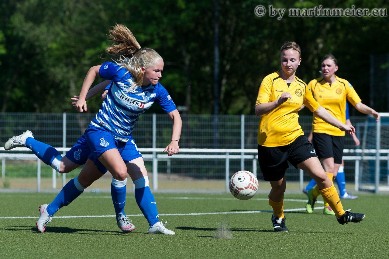 Nichts überstürzen - Janina Vogt in Aktion