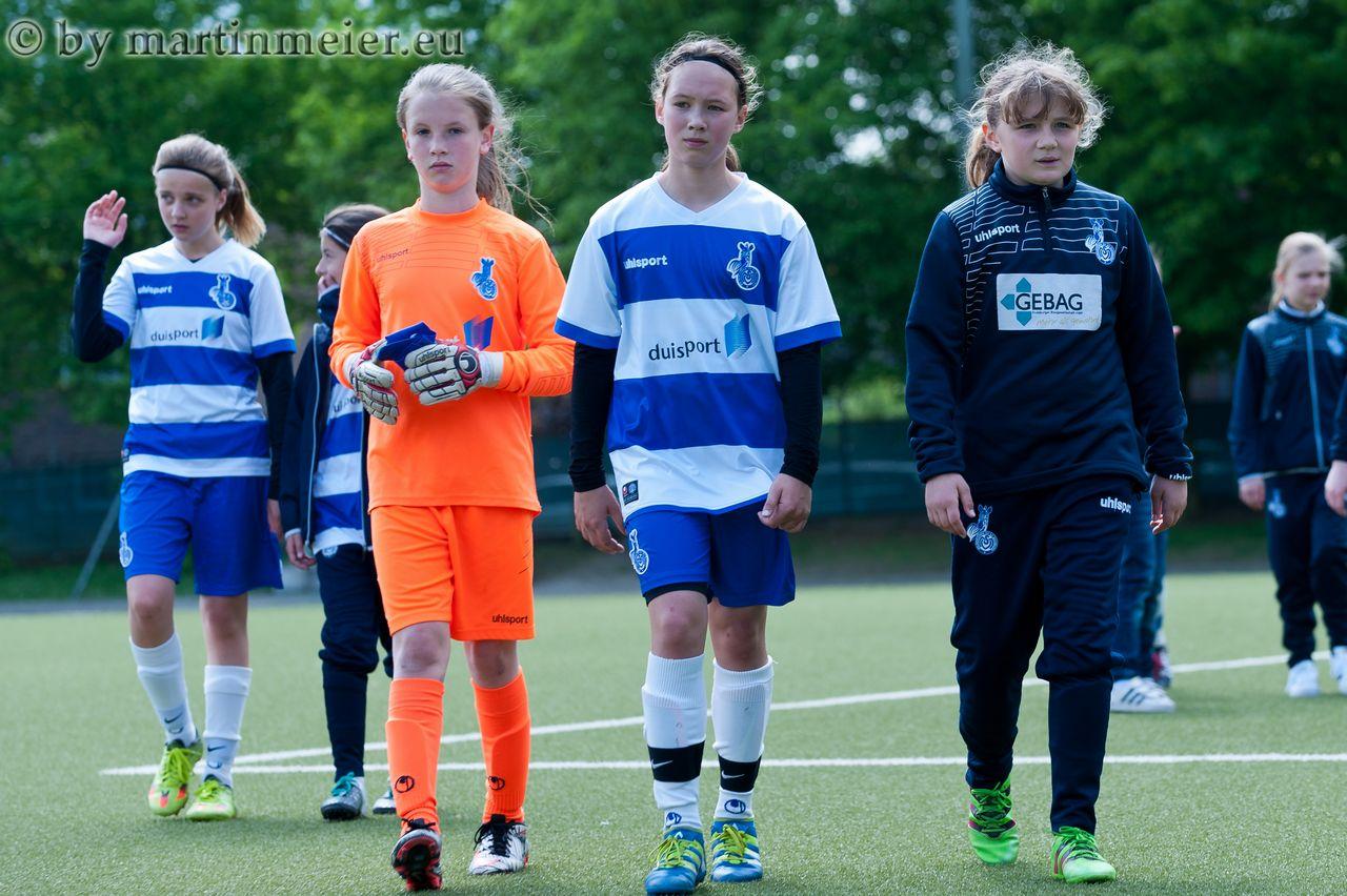 Knappe Kiste - Im FVN-Pokal Halbfinale unterlagen die MSV-Mädchen bei Borussia Mönchengladbach mit 0:2