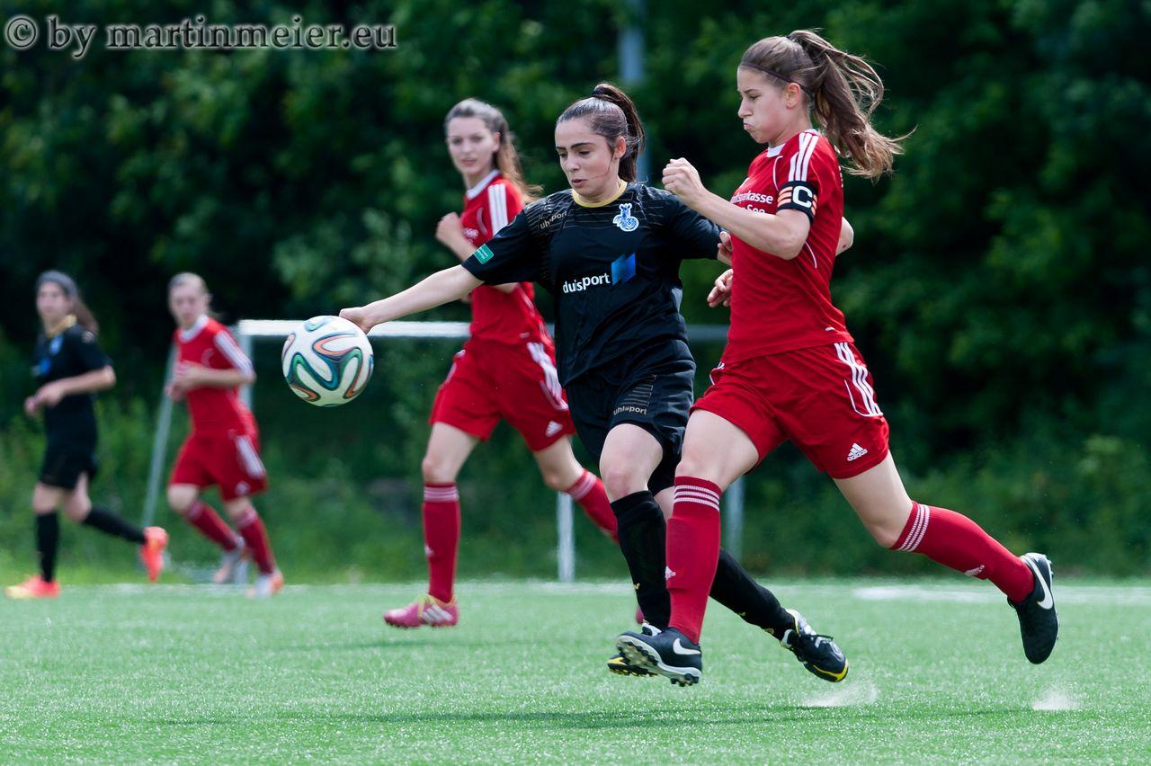 Sieg zum Abschluss - Die U17 Mädchen des MSV beendeten die Saison mit einem Auswärtssieg