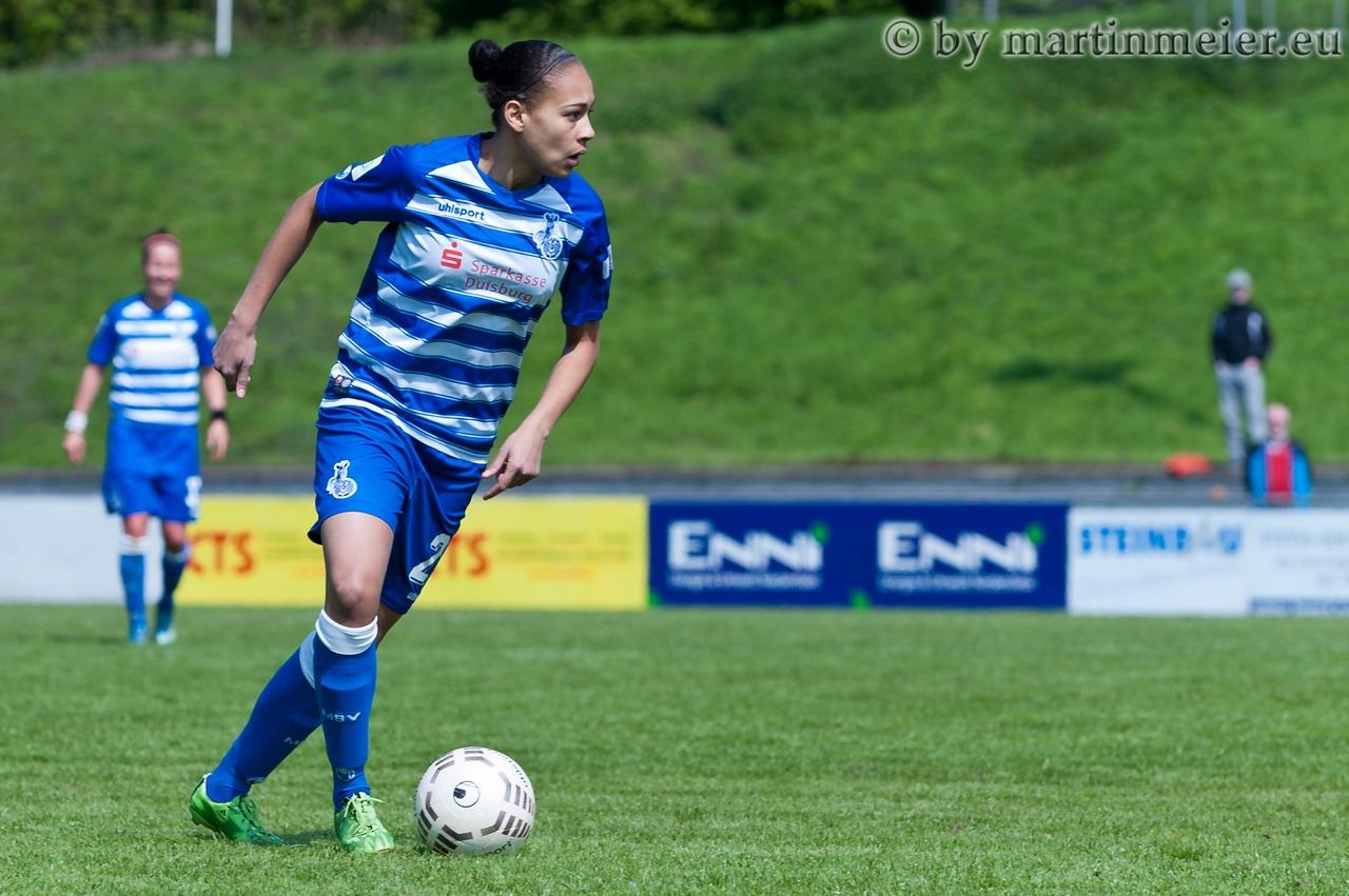 Mit den Zebras im Pokal zum SV Alberweiler - Lara Hess