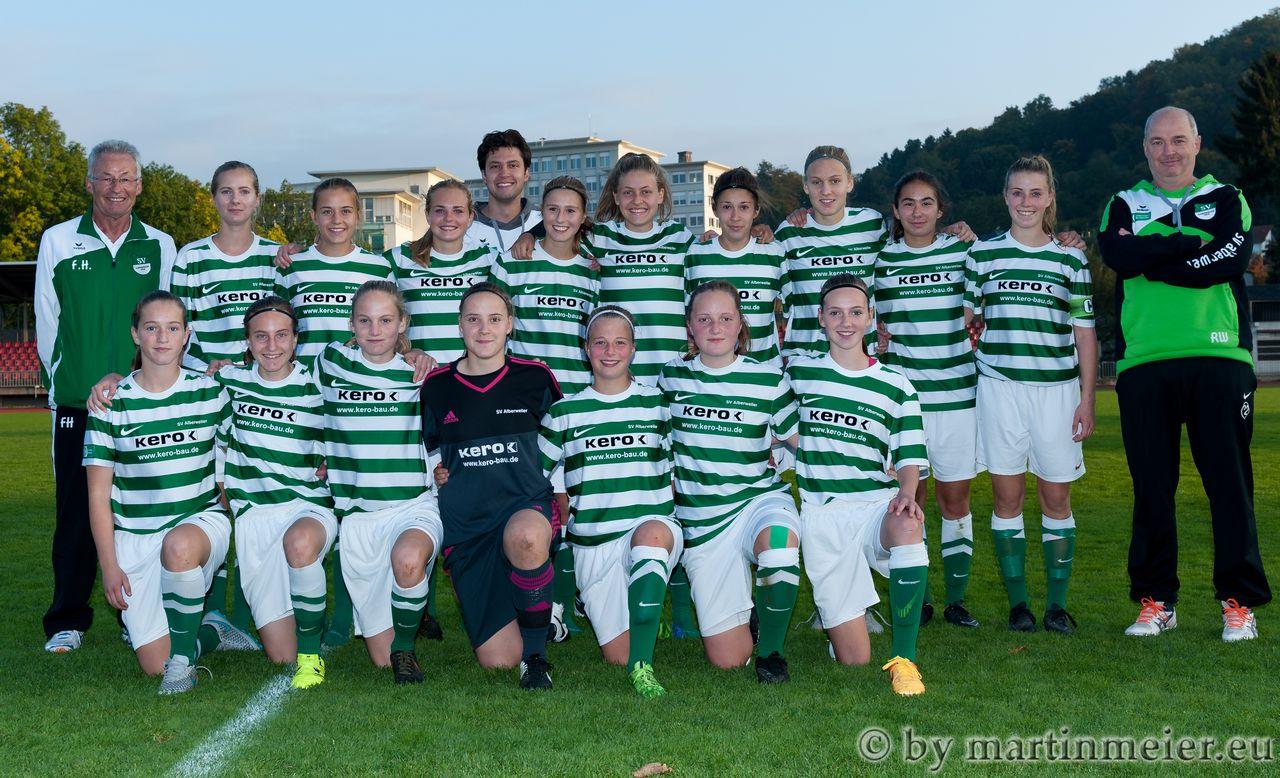 Aushängeschild des SV Alberweiler sind die B-Juniorinnen um Nationalspielerin Kristin Kögel, die in der Bundesliga spielen