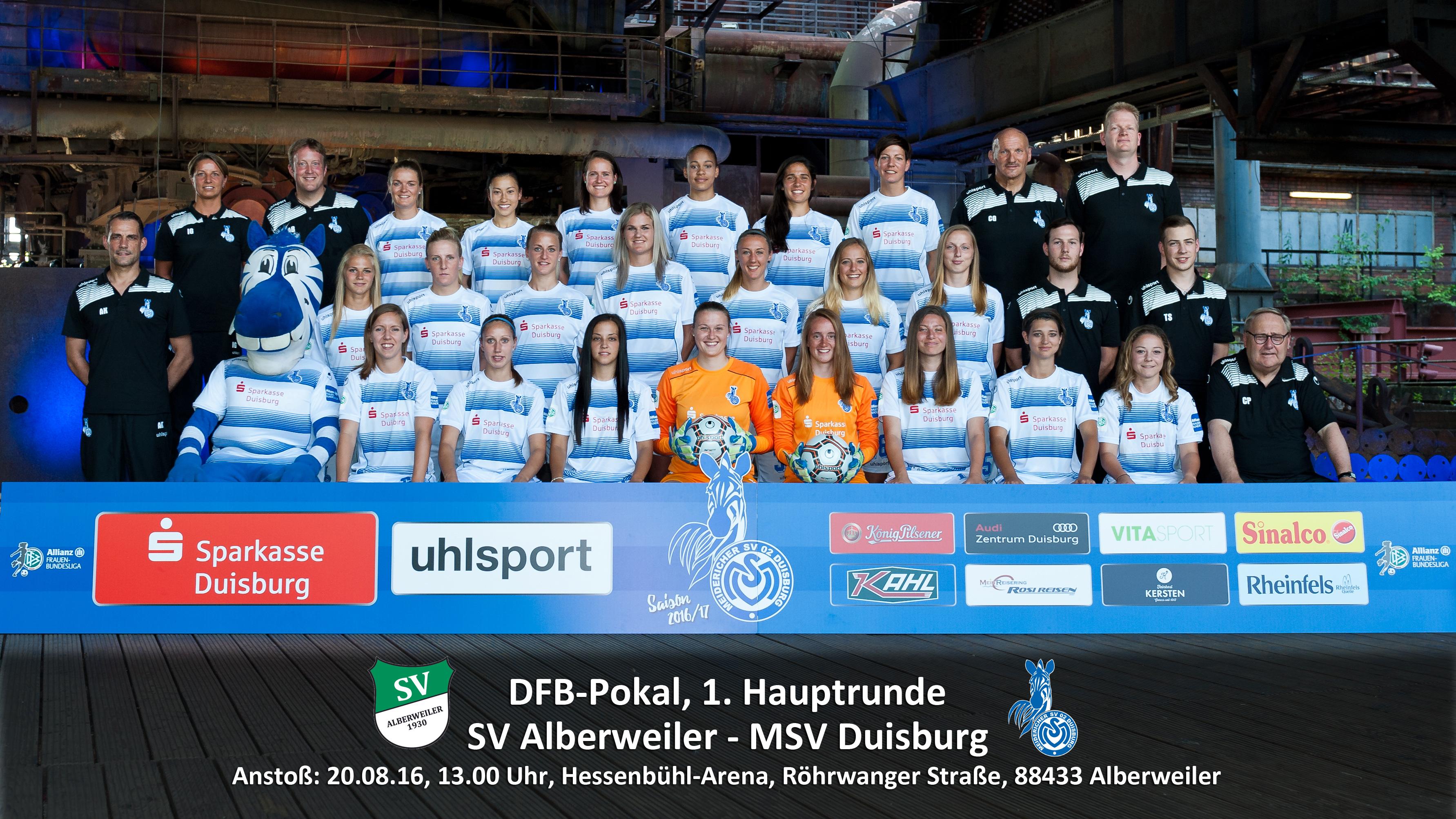 Auf nach Württemberg - Die Zebras müssen im Pokal zum SV Alberweiler