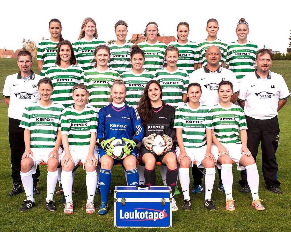 Pokalpremiere - Die Mädels vom SV Alberweiler erfüllten sich mit der Teilnahme am DFB-Pokal einen Traum