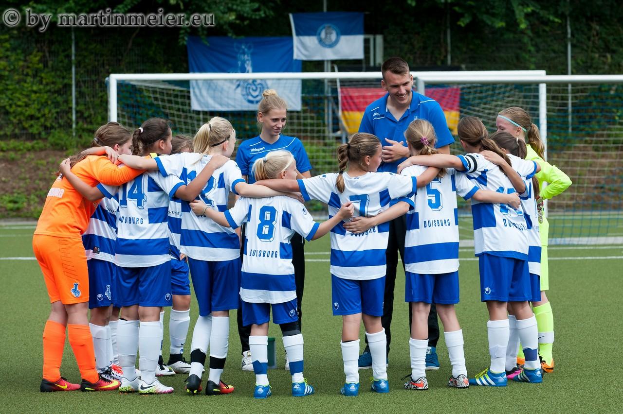 Auf zu neuen Zielen - Die D-Juniorinnen des MSV starten im Pokal in den Pflichspielbetrieb der neuen Saison