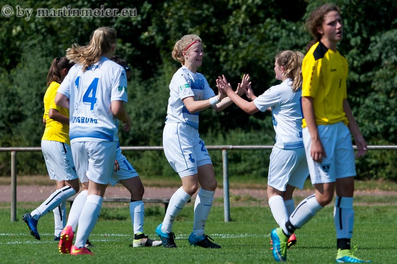 SOMMER-TIME - Lynn Sommer erzielte gegen Alemannia Aachen den Siegtreffer