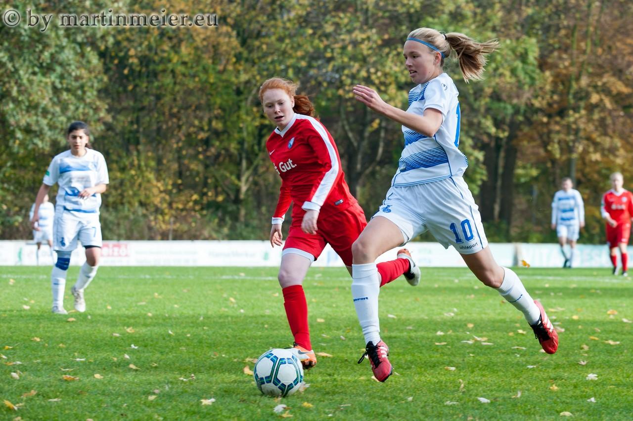 Alte Bekannte - Maja Hünnemeyer spielte gegen ihre alten Teamkameradinnen vom VfL Bochum
