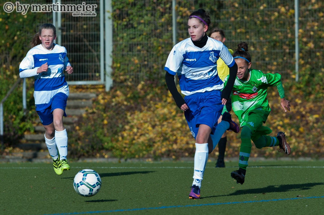 Starkes Comeback - Kam nach fast zweimonatiger Verletzungspause bärenstark zurück - Melina Agca(MSV)