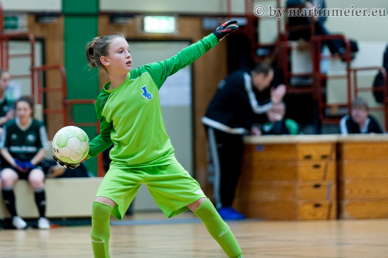 Den schnapp ich mir - Gegen Borussia Bocholt schnappte sich Ena Mahmutovic einen Strafstoß