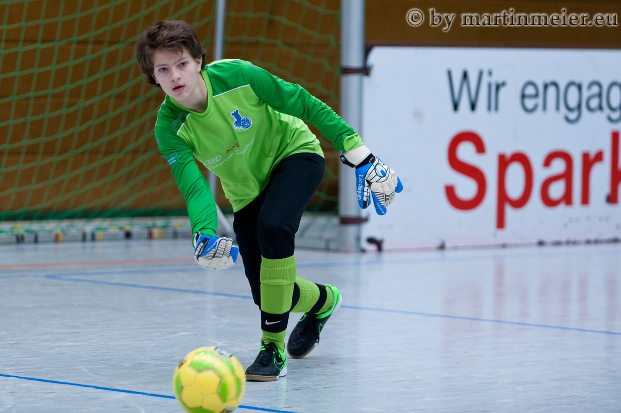 In The Line Of Fire - Franzi Dreihues(MSV) rettete gegen den VfL Wolfsburg mit starken Paraden den Punktgewinn