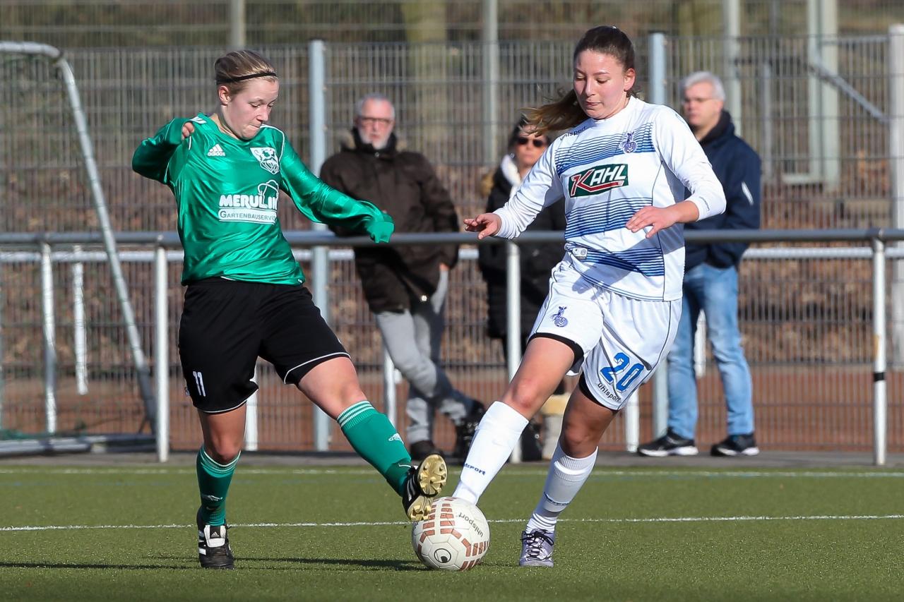 Treffsicher - Jülide Mirvan(MSV) traf gegen den SV Walbeck doppelt