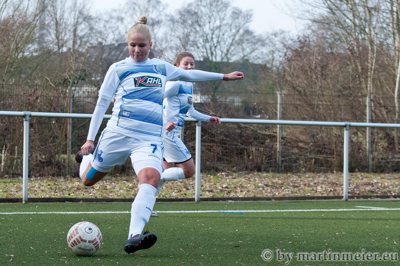 Wieder da - Die verletzungsbedingte Leidenszeit von Janina Vogt scheint endgültig vorbei