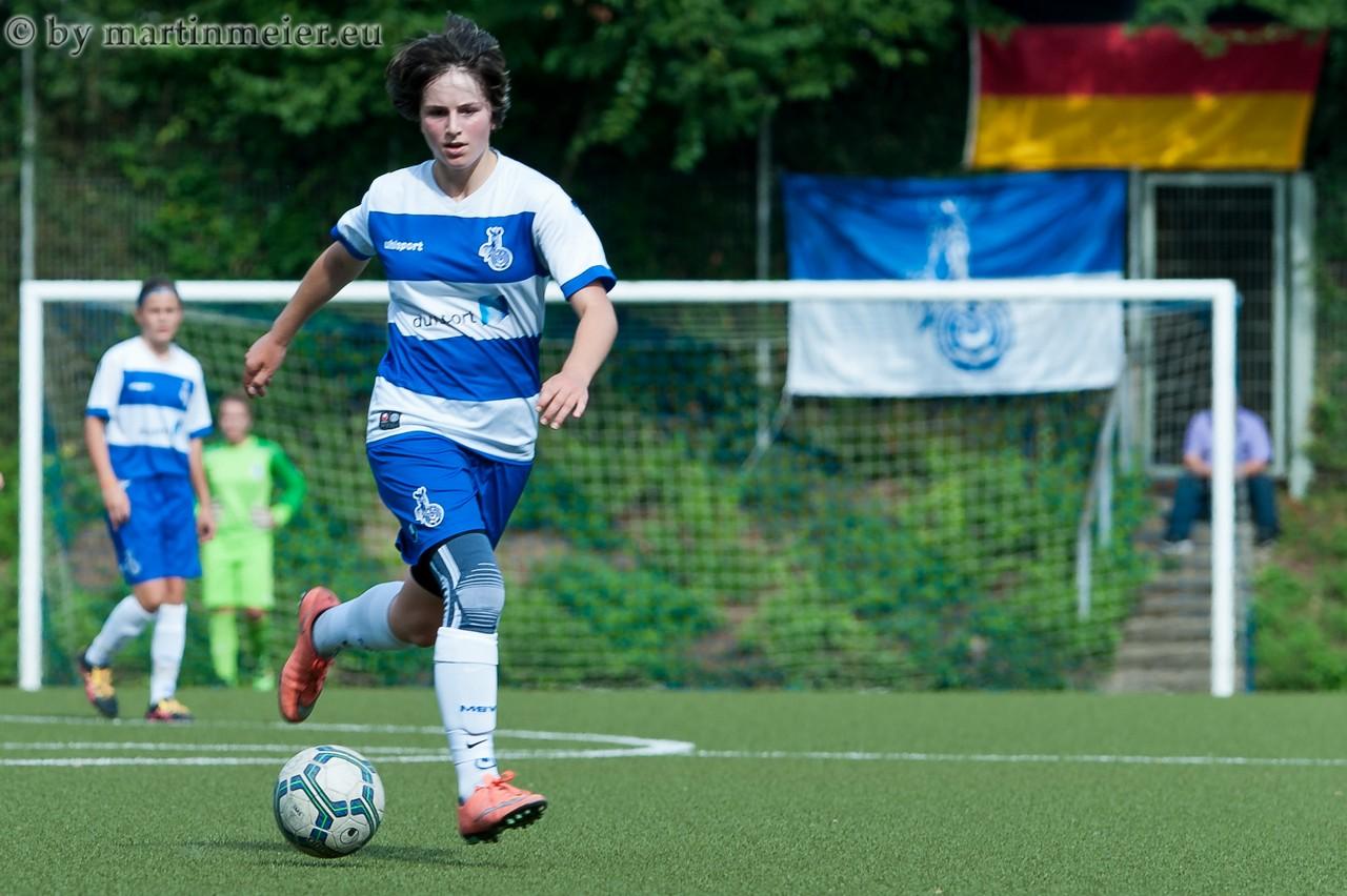 Immer wieder Gladbach - Patrice Plassmann(MSV) ist gerade in Mönchengladbach sehr treffsicher