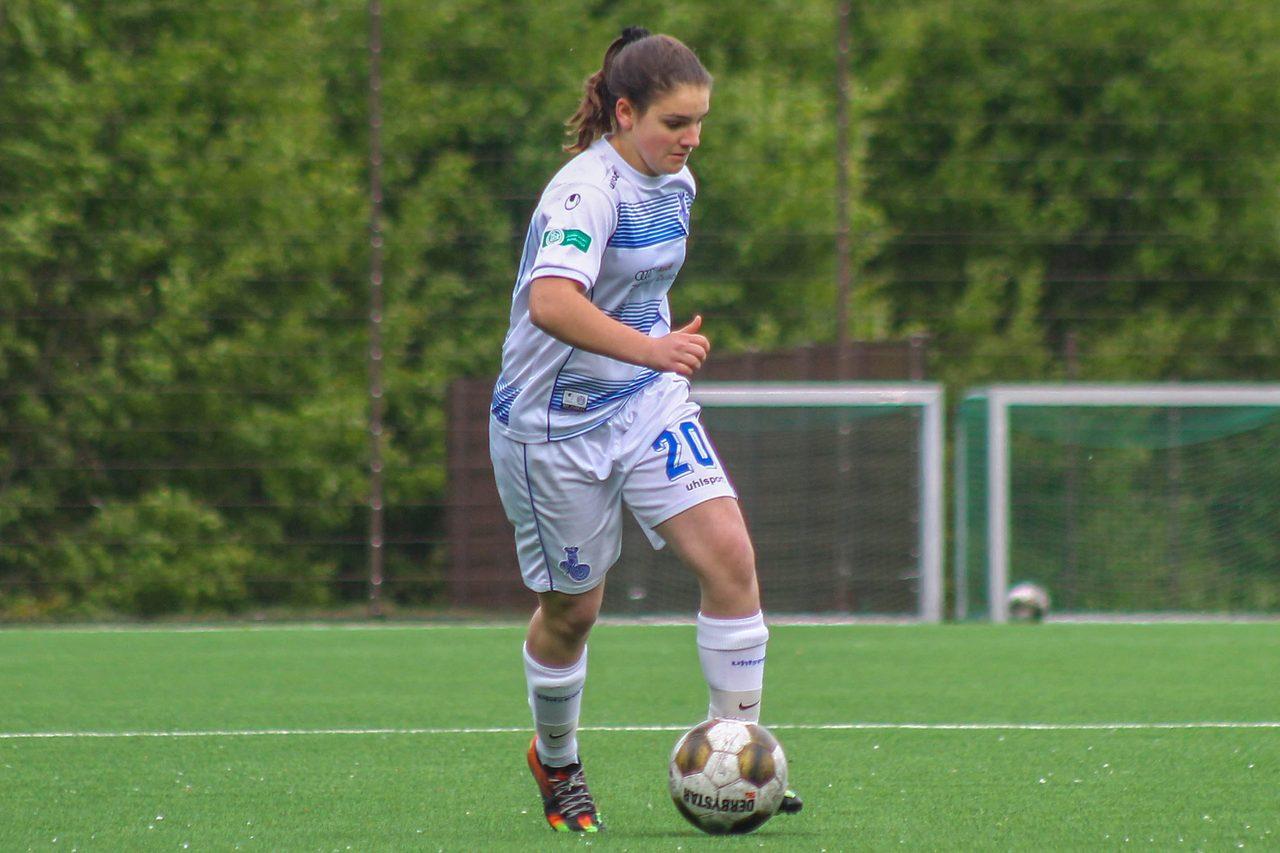 Joker - Sara Jacek sorgte nach ihrer Einwechslungmit für den Duisburger Sieg