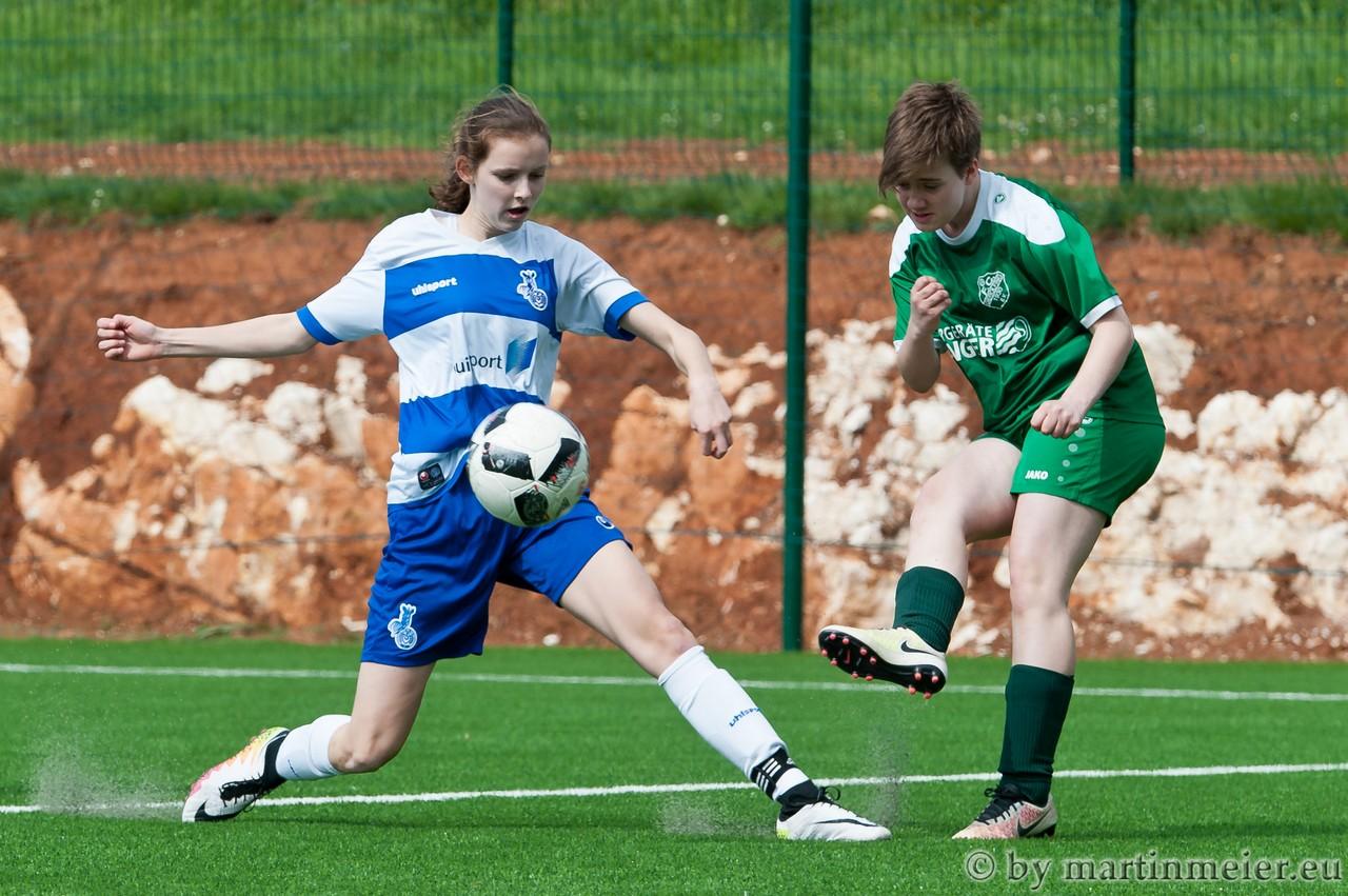 Hattrick - Selma Fohrer sorgte mit ihrem Hattrick gegen den FC Gerolfing schnell für klare Verhältnisse