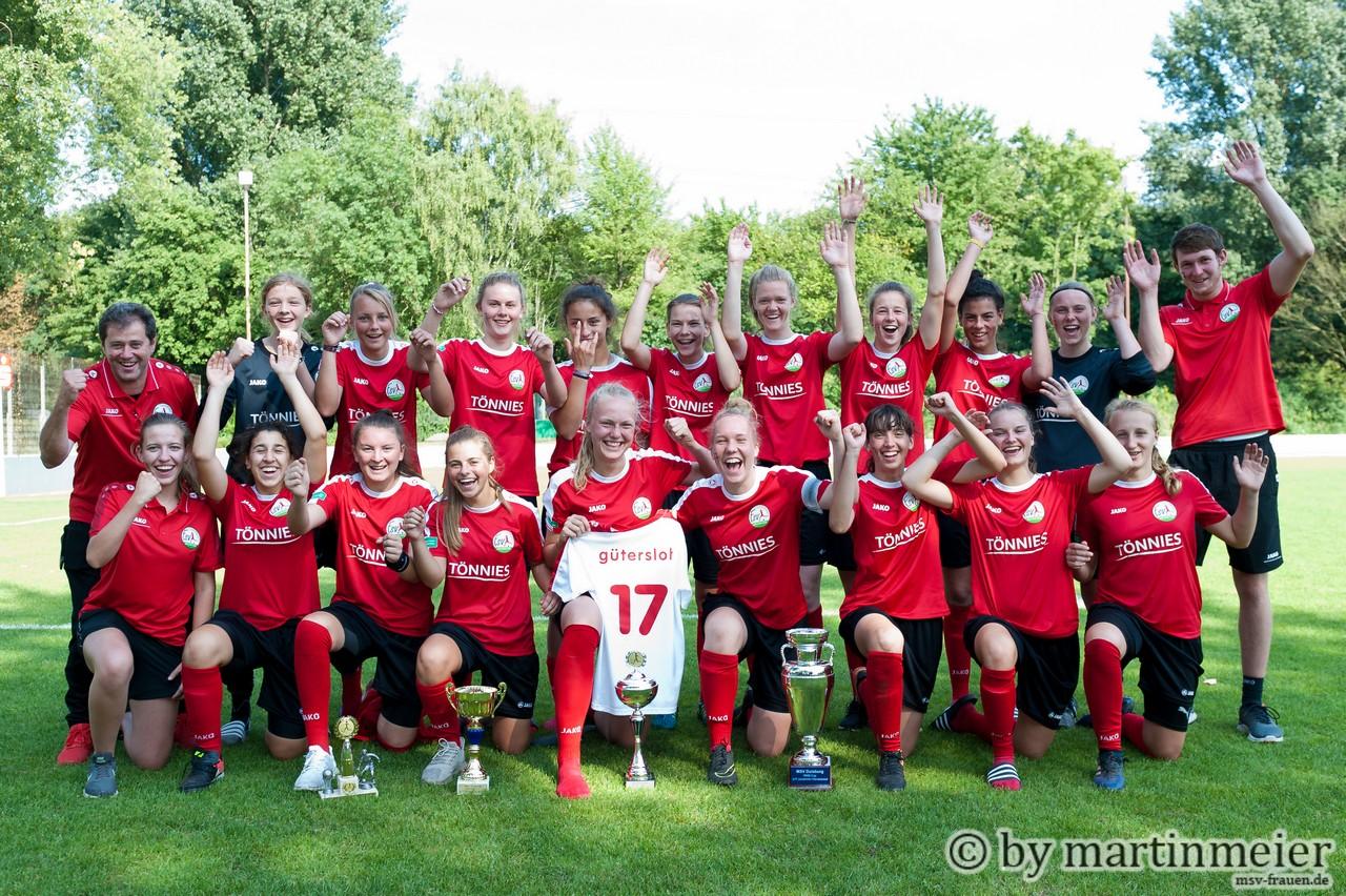 Siegerfoto mit Nummer #17 - Der FSV Gütersloh 2009 gewnn den Rheinwohnungsbau Cup 2017