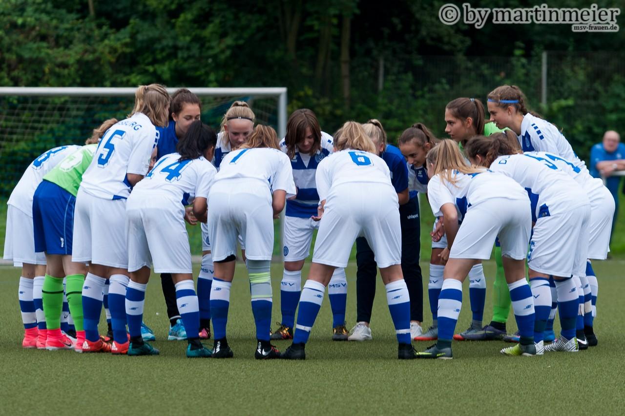 Vorhang auf - Die U17 Mädchen des MSV starten am Samstag gegen den FC Iserlohn 46/49 in die neue Saison der B-Juniorinnen Bundesliga