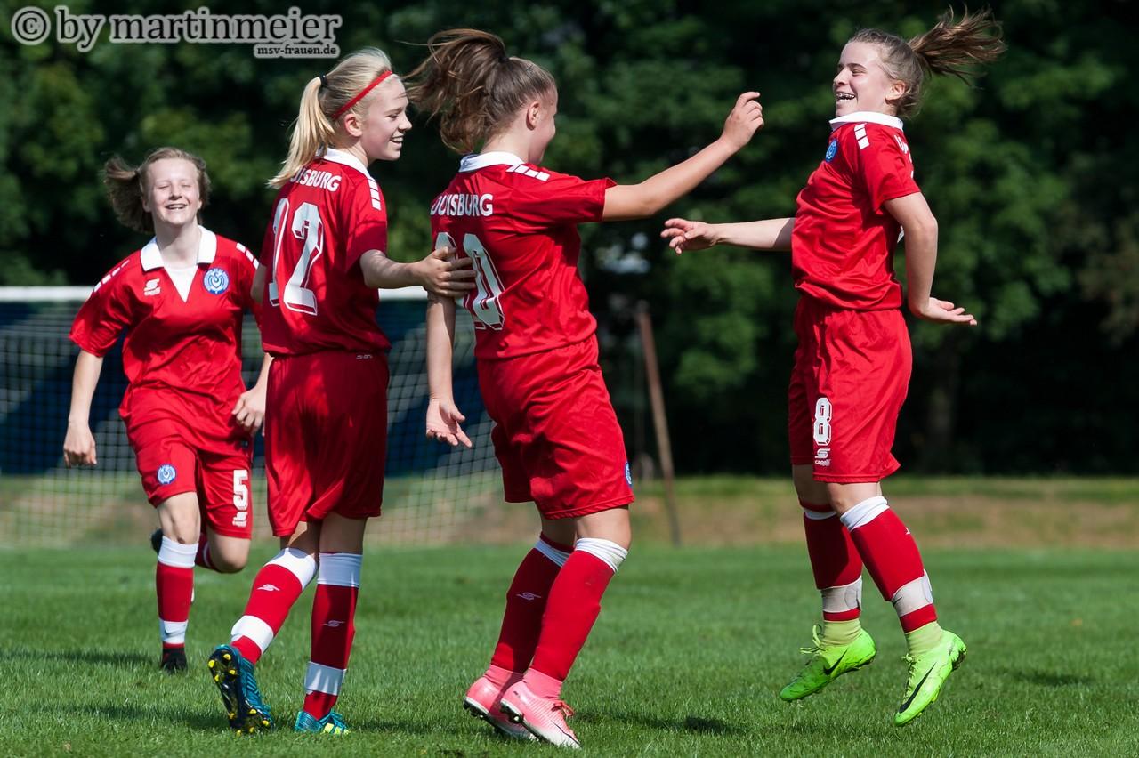 Heißer Tanz - Auf die jungen MSV-Mädchen warten in der B-Juniorinnen Niederrheinliga starke Gegner
