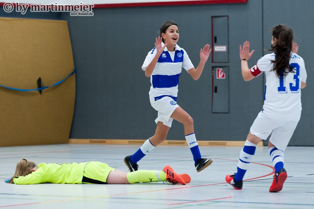 TOR MSV! - Didem Kocabaşoğlu erziehlr 75 Sekunden vor dem Ende den 2:1 Siegtreffer gegen die SGS Essen
