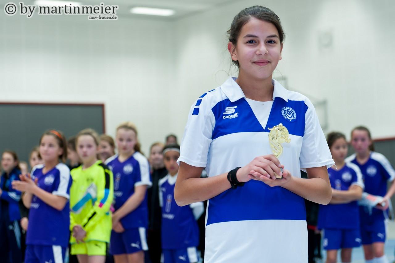 Simply the best - Didem Kocabaşoğlu wurde zur Spielerin des Turniers gewählt